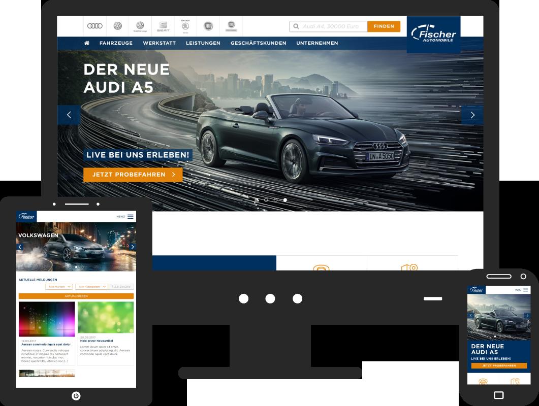 Design for Fischer Automobile